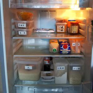 高血圧予防の為に冷蔵庫もすっきり