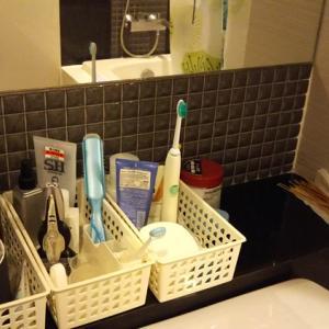 洗面所はかご収納