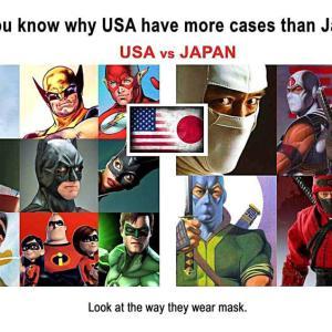 日本よりアメリカの症例が多い理由を知っていますか?
