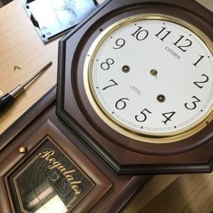 掛け時計の修理