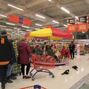 創業30周年のスーパー