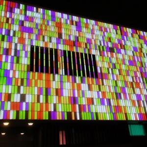 アールトセンターの光のイベント