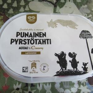 ムーミンのアイスクリーム