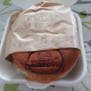 久々のハンバーガー