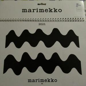マリメッコのカレンダー