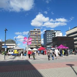 週末の中央広場