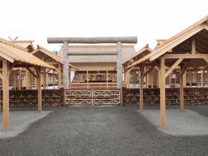大嘗宮に行ってきました I have visited Daijokyu Hall in Imperial palace