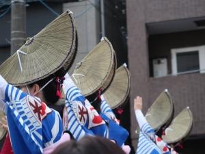 高円寺の阿波踊りを見てきました。I enjoyed Awa odori festival in Koenji, Tokyo