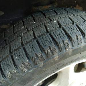 タイヤを冬用に替えた な休日
