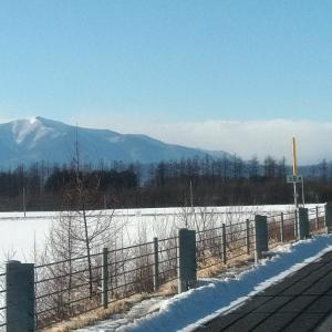 広尾でお仕事 日高山脈が素晴らしく美しかった 明日は超寒くなるぜえ