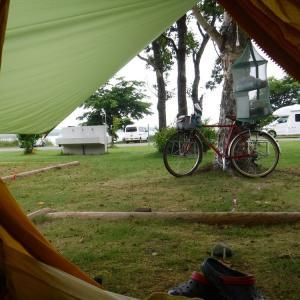 旅9日目 クッチャロ湖にて2日目の朝 今日ものんびりするべ
