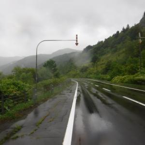 雨のなかを激走 森林公園びふかアイランドに到着
