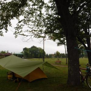 旅20日目 つくも水郷公園にて3日目の朝