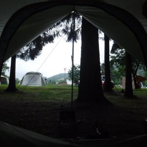 旅24日目 グリーンパークぴっぷにて朝 白滝高原に行こう