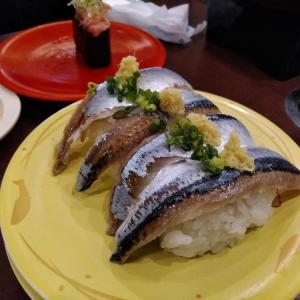 室蘭バイト3日目 地球岬 回転寿司
