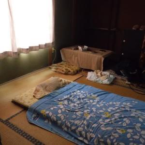 久方ぶりの雨 労働のあと家でゴロゴロ 動画「詩影8.00」アップ