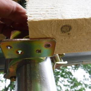 午前中だけ労働 【小屋作り】垂木を一本だけ付けた 旅友は幕別 ビリー・アイリッシュ