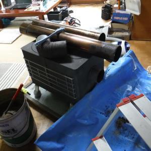 薪ストーブの煙突掃除 旅友の軽トラで北見へ買い物 動画「まったり動画 薪ストーブの煙突を掃除したら煤がハンパなかった」