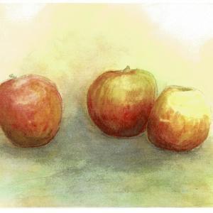 3個のリンゴ