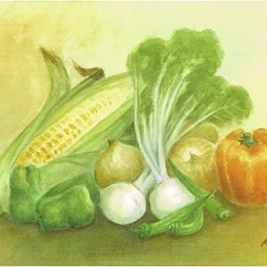 野菜・・トウモロコシと