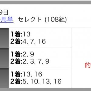 『みんなでトリプル馬単!』20201025☆明日は船橋キャリーオーバー発生中!!