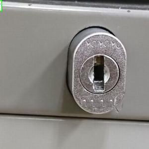 デスク錠開錠
