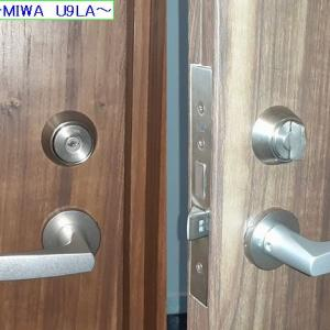破錠交換~MIWA U9LA~