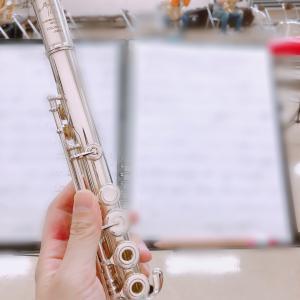 吹奏楽団の練習にコロナ自粛より復帰