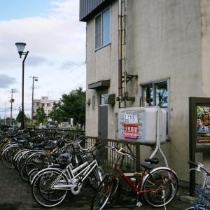 オートハーフSEで自転車←写真だけで話題が違うし