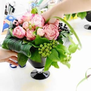 お花とアロマと紅茶