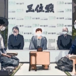 王位戦第四局 藤井聡太棋聖