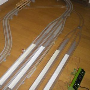 某アニメで鉄道模型が扱われていました。