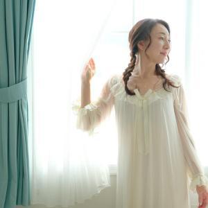 パジャマがドレスに変わる時。。*