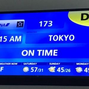 無事に東京に帰れそうです♪