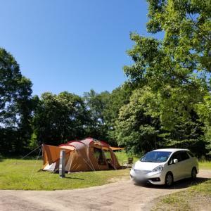 梅雨の6月 エコキャンプみちのくへ