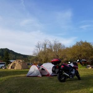 奥久慈でキャンプ
