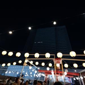 歌舞伎町でビアガーデン