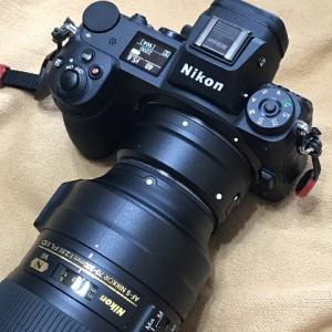 Nikon Z周りのファームウエアがマイナーアップデート