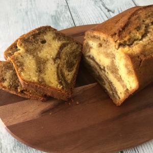 米粉の紅茶マーブルパウンドケーキ