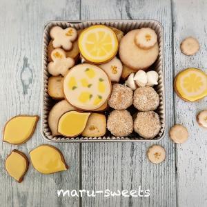 レモン尽くしのクッキー!レモン◯個