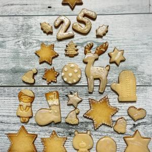 2021年 maru-sweetsクリスマスクッキー出来ました
