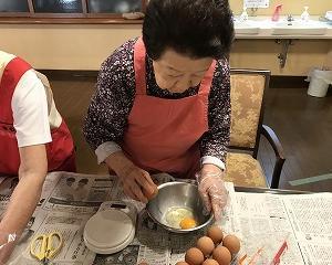 クッキング(ホットケーキ作り)