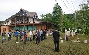 本日、焼石連峰安全祈願祭が執り行われました。
