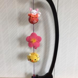 〈招き猫のつるし飾り〉シリーズの新作!