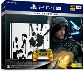 まだいけます!34,999円とお得なのでお早めに ゲオオンラインセール PlayStation 4 Pro DEATH STRANDING LIMITED EDITION