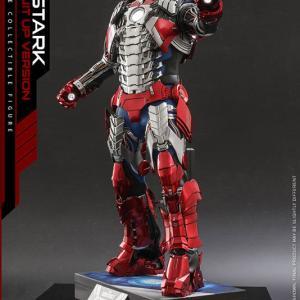 【新】過去作人気です ムービーマスターピース アイアンマン2 トニー・スターク MarkV SuitUpVer があみあみ本店で販売開始