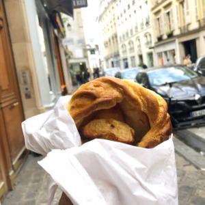 パリで小腹が空いたら立ち歩き(^^)