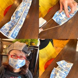 素敵な手作りマスク!(^O^☆♪