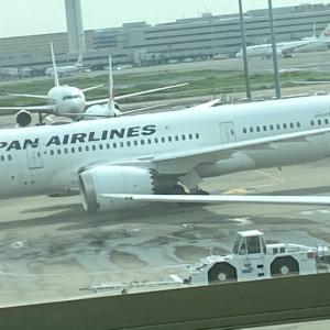 まもなく羽田空港から飛びます✈️ 夢を運びます*\(^o^)/*