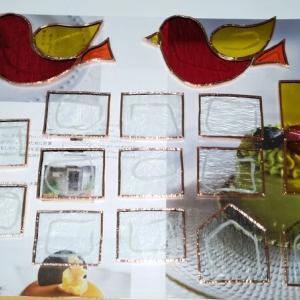 赤い鳥とミニミニハウスの製作2